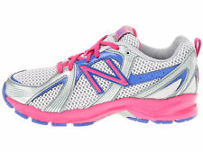 Girls Lace Silver/Pink/Blue  Lace Sneakers Girls Size  13  1/2 Wide