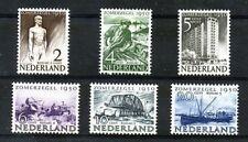 Nederland 550-555 Zomerzegels  1950  luxe postfris-mnh