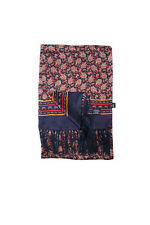 Tootal Vintage Paisley Scarf 100% Silk in Navy Retro Mod