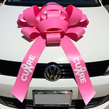 Set of Two Giant Pink car bows with Magnetic base FREE SHIPPING