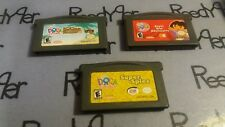 Dora the Explorer 3 GBA Game Lot Super Spies Star Adventures Pirate Pig Micro DS