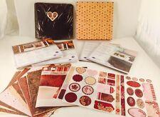Creative Memories 24 7x7 Page Protectors, 24 Scrapbook Pages, Amore Album, More