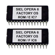 Siel Opera6 firmware Factory OS Eprom Opera-6