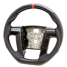 Custom Performance Steering Wheel For 11 12 13 14 Ford F150 Hydro Carbon/Leather