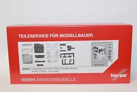 Herpa 082648 MAN TGS M Fahrerhaus Straßenversion inkl Spiegel 1:87 H0 NEU in OVP