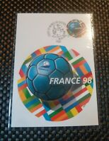 Postage Stamp : WORLD CUP FOOTBALL / 1998 / FIRST DAY COVER / FRANCE 1 Stamp