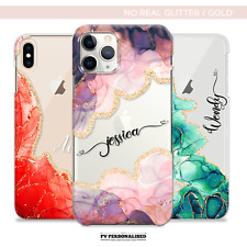PERSONALISED NAME PHONE CASE COVER INITIALS FOR APPLE IPHONE 8 7 PLUS 11 XR XS