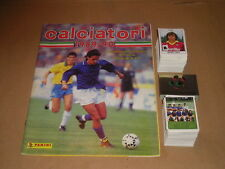 ALBUM FIGURINE STICKERS CALCIATORI PANINI 1989/90 VUOTO/EMPTY 1-556 SET CPL-MAX