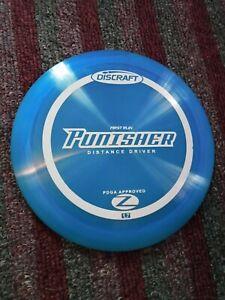 Discraft First Run Elite Z Punisher 170-172 gram Blue Golf Disc