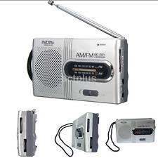 Portable Am/Fm Mini Telescopic Antenna Radio Pocket World Receiver Speaker New