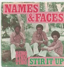 Names&Faces-Stir It Up vinyl single
