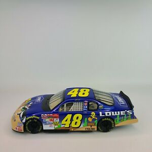 2002 Jimmie Johnson #48 Looney Tunes Stock Car 1/18 Winners Circle Monte Carlo
