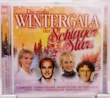 Wintergala der Schlager Stars + 2 CD Set + Weihnachten Advent + Stimmungsvoll +