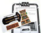 CUSTOM DIE CUT STICKERS for VINTAGE STAR WARS for JAWA SANDCRAWLER & CONTROLLER