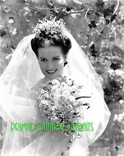 "MAUREEN O'HARA 8X10 Lab Photo B&W 1941 ""HOW GREEN WAS MY VALLEY"" Bride Portrait"