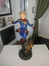 Captain Marvel Premium Format Statue! Sideshow Collectibles! Sold Out!
