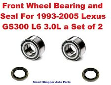 Front Wheel Bearing and Seal For 1993-2005 Lexus GS300 L6 3.0L a Set of 2 -Pair