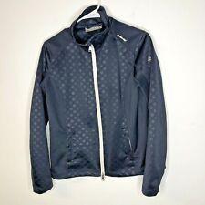 Eurostar Womens Equestrian Jacket Blue Full Zip Size L Textured