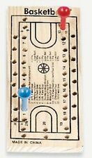 BASKETBALL Peg Game - 2 Pegs,Game Board & 2 Dice FREE U.S. Shipping NEW