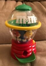 "M&M's Candy Dispenser 8"" Tall M&M Spinning Machine"