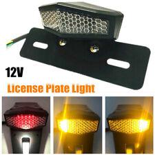 LED Motorcycle Turn Signals Tail Light Fender Brake License Plate Lamp Universal