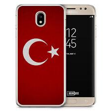 Samsung Galaxy J3 2017 Hülle - Türkiye Turkey Türkei Neu Flagge - Motiv Design