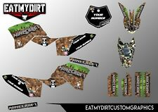 FOR KTM 50 2009 - 2015 CUSTOM GRAPHICS SX  MX MOTOCROSS DECALS STICKERS