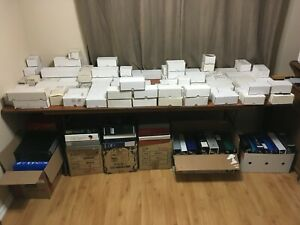 Hockey card completed BOXED SETS for sale - UD UDC OPC Fleer TOPPS & more!!!!