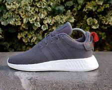 BNWB & Genuine Adidas Originals ® NMD R2 PK Primeknit Grey Trainers UK Size 6