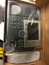 Cisco CP-7945G 7945 Series Business IP VOIP Phone w/ Handset + Cord