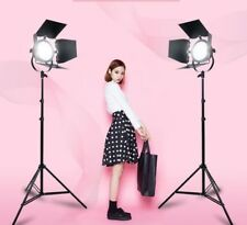 2X55W LED RED HEAD REDHEAD DIMMABLE CONTINUOUS DAYLIGHT 5500K LIGHT PHOTO STUDIO