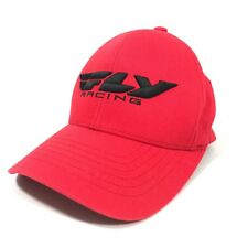 FLY Racing Flexfit Fitted Baseball Hat Red Size Small Large