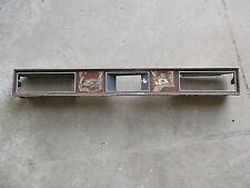 1972 72 CADILLAC DASH TRIM CLOCK A/C AIR VENT WOODGRAIN INSERT ELDO ELDORADO 71