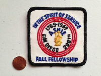 ASHIE OA LODGE 436 SCOUT PATCH SERVICE 1969 SAN DIEGO 200TH FALL FELLOWSHIP