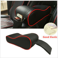 Black w/ Red line Car Center Console Armrest Cushion Mat Pad Cover New