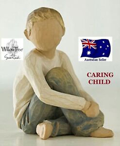 CARING CHILD Demdaco Willow Tree Figurine By Susan Lordi BRAND NEW IN BOX 26228