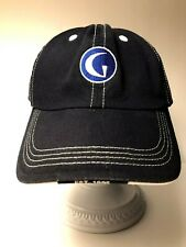 Golf Channel Hat, Stitching, Cap With G Patch, Navy Blue Cotton Adjustable