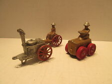 3 Man Oil Vehicles #70 71 73 Soup Kitchen, Shell Carrier, and Tractor
