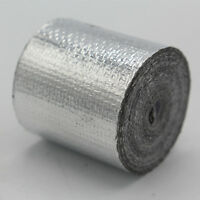 Silver Foil Heat InsulatingTape Hose Wrap Reflective Shield Adhesive 25mm x 10m