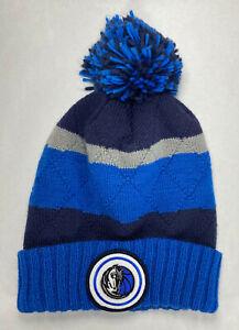 Mitchell & Ness Dallas Mavericks Hi Five Pom Beanie Knit Winter Hat,*Rare 2015
