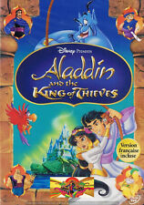 Family - Aladdin And The King Of Thieves (DVD, 2005) (Bilingual) Disney NEW