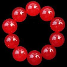 10Pcs Red Jade Round CAB CABOCHON 10x5mm L782