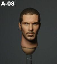 "1/6 Hot Toys Head John Connor Stars Christian Bale For 12"" Figures Terminator"