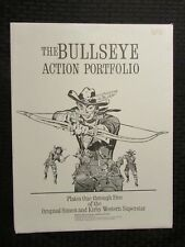 "1979 BULLSEYE Action Portfolio SIGNED Bookplate Joe Simon VF-/FN- 11.5x15.5"""