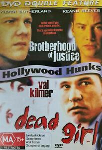 Dead Girl DVD + Brotherhood of Justice MOVIE DOUBLE Keanu Reeves Val Kilmer