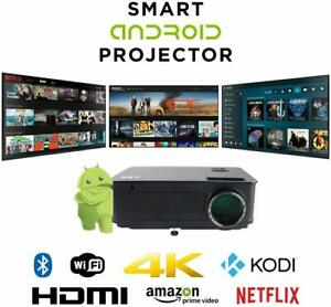 Refurbished Smart HD6K 4TH Gen Android IPTV Projector from ABIS
