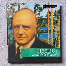 """SIBELIUS 'L'AME DE LA FINLANDE"""" CD ALBUM & BOOK LIVRE N°5  MUSICAL MASTERPIECES"""