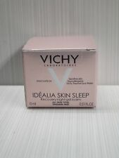 VICHY IDEALIA SKIN SLEEP RECOVERY NIGHT GEL-BALM ALL SKIN TYPES