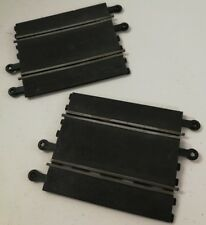 2 x Scalextric Classic Track 1/2 Straights C159 - used - buy 2 get 1 free