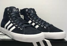 new product 0370f 9e3ca Adidas Mens Size 8 Matchcourt High RX Casual Athletic Navy Sneakers Shoes  CQ1120